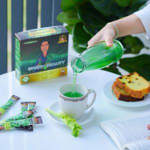 nước ép green beauty vị cafe